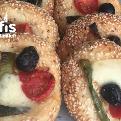 Mini Simit Pizza Tarifi